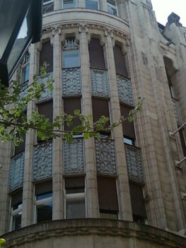 Váci utcai homlokzat