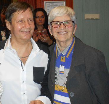 Böbe és Kaczor Feri.