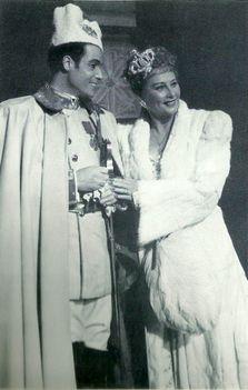 Honthy Hanna, Sárdy János. 1945