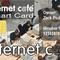 internet kávézós kártya