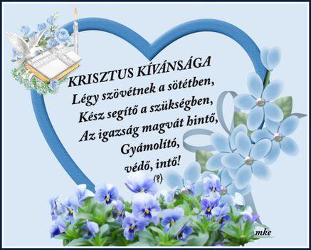 Krisztus kívánsága