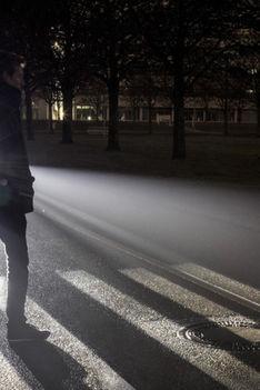 Mercedes Digital Light: Zebrát rajzolna az S osztály a gyalogosok elé