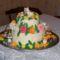 Nórika 5 éves szülinapi cicás tortája