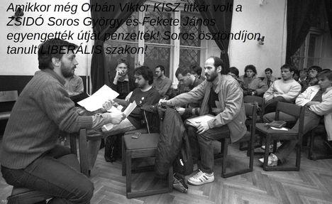 Orbán Viktor KISZ titkár