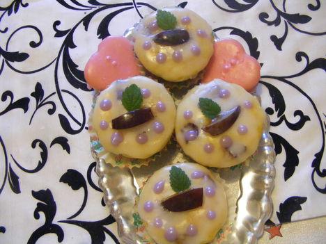 Szilvás muffinok