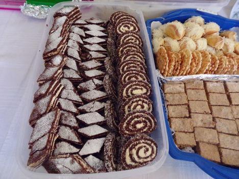 Zebra szelet keksz tekercs