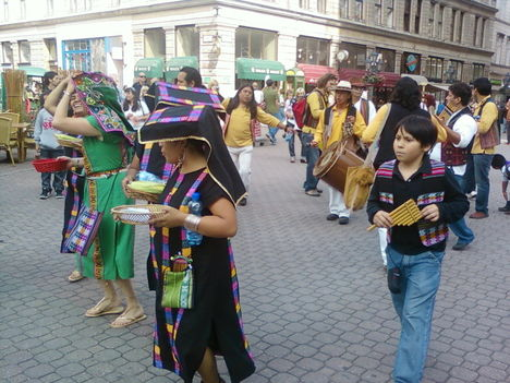 Napünnep - Inti raymi Budapesten