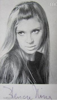 Bencze Ilona dedikált fotó