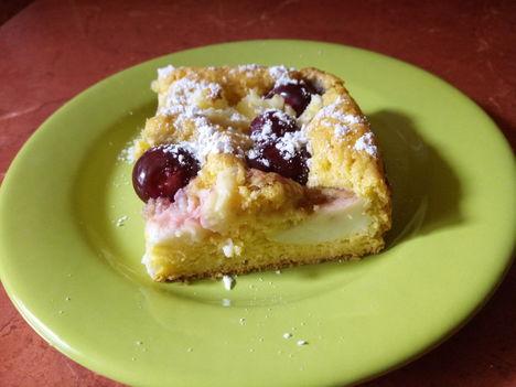 Cseresznyés süti