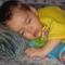 Dávidka alszik