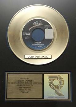 mj Thriller aranyalbum 1982