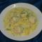 Diétás krumplifőzelék csirke gombóccal