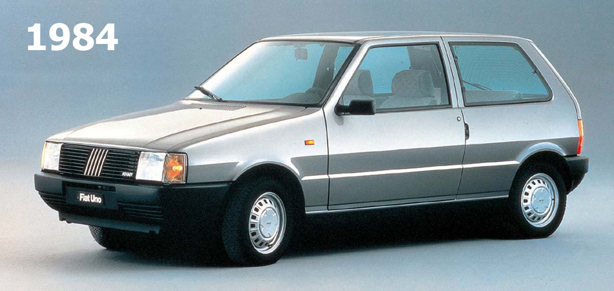 1983 Fiat Uno 45s Fire Related Infomation Specifications