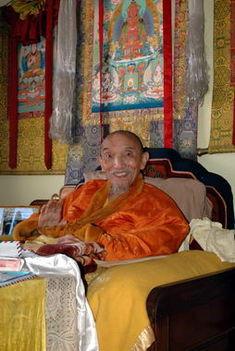 His Eminence Chogye Trichen Rinpoche