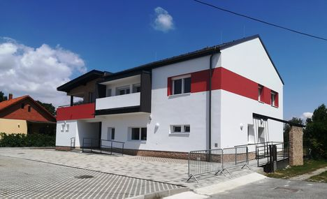 Egészségház épült Dunakilitin, 2018. július 07.-én