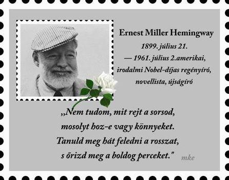 Ernest Hemingway:  Csak a tiéd az életed