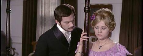 Latinovits Zoltán (Szentirmai Rudolf gróf),Pap Éva (Mayer Fanny) az Egy magyar nábob-ban(1966)