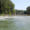 Az ún. Kőhídi vízszintszabályzó műtárgy, Dunasziget 2018. augusztus 09.-én (2)