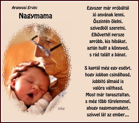 nagymama versek idézetek Erdélyi keresztények: Nagymama (kép)