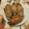 Sült pulyka szárny közép. Fokhagyma fűszersó val ízesítve.