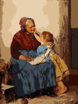 Aranyosi Ervin: Nagymama, te olyan jó vagy!
