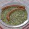 Kapros-tejfölös cukkíni főzelék