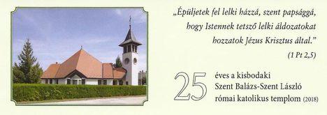 25 éves a kisbodaki templom