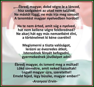 Aranyosi Ervin: Ébredj magyar!