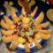 Asztali dísz - friss gyümölcsök