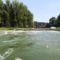 Az ún. Kőhídi vízszintszabályzó műtárgy, Dunasziget 2018. augusztus 09.-én 1