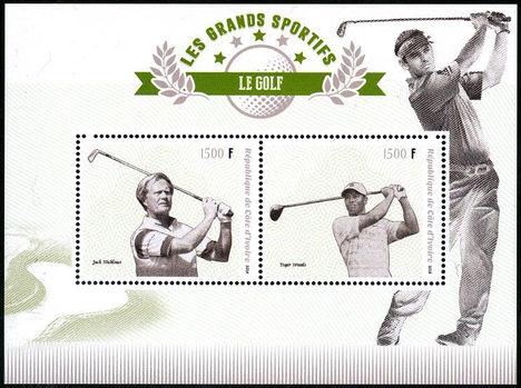 Híres golfozók