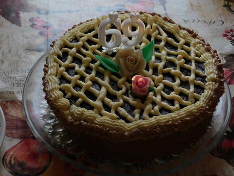 Szülinapi tortám. A nejem készítette.