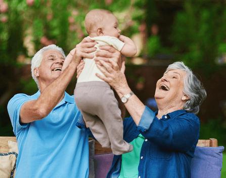 A nagyszülők szeretete