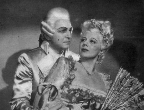 Jámbor László A Figaro házasságában Osváth Júliával
