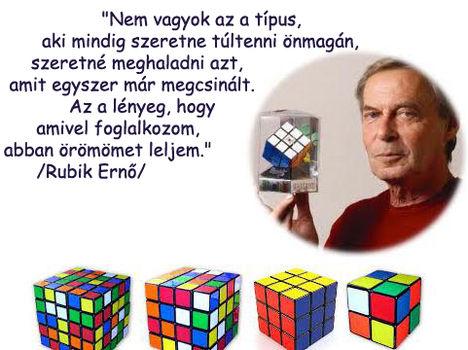 Ma 44 éve ,ifjabb Rubik Ernő feltalálta a Rubik-kockát.