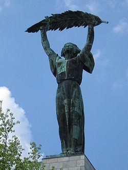 Szabadság-szobor, Gellért-hegy