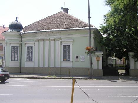 Baja Nagy István képtár bejárata