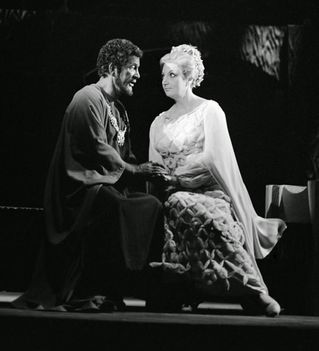 Déry Gabriella és Simándy József - Otello 1972