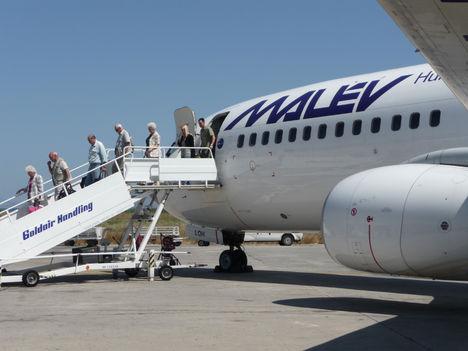 Érkezés Rodoszra 2009. június 9.