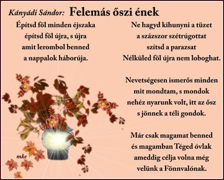 Felemás őszi ének