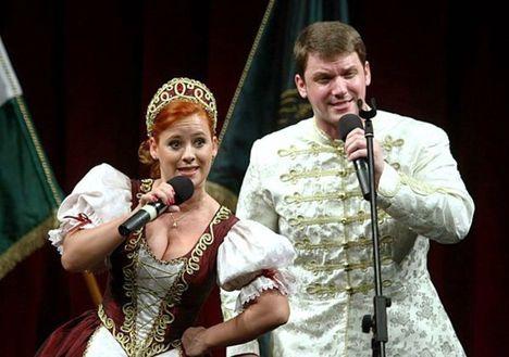 Peller Károly és Bódi Barbara