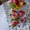 Pudingos gyümölcsös muffinok