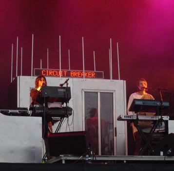 Röyksopp Glastonbury Festival 2005