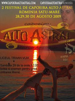 2 Festival de capoeira Alto Astral Romenia/ Satu Mare (Szatmarnemeti)