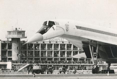 A Tu-144-es  Ferihegyen_1