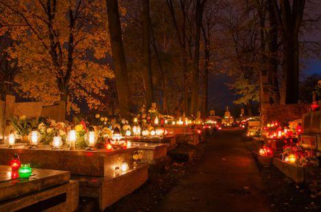 Kun Magdolna :Életre kelt a temető