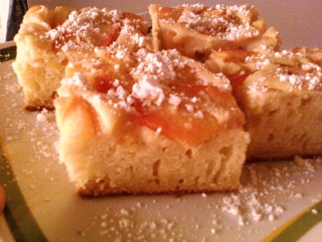 őszibarackos süti