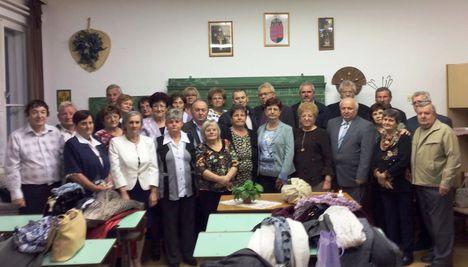 50 éves osztálytalálkozó a Püski Körzeti Általános Iskolában, 2018. november 03.-án