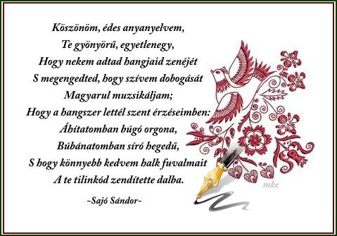 a magyar nyelv napja idézetek Erdélyi keresztények: A magyar nyelv napja (kép)