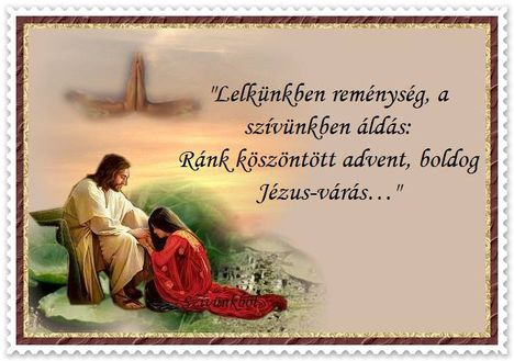 Advent Jézus